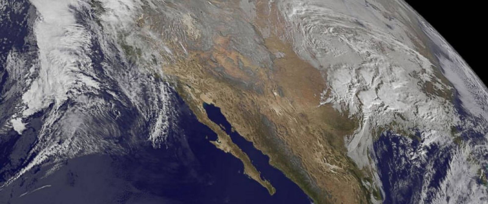 NASA Shares View of Massive Winter Storm From Space - ABC News