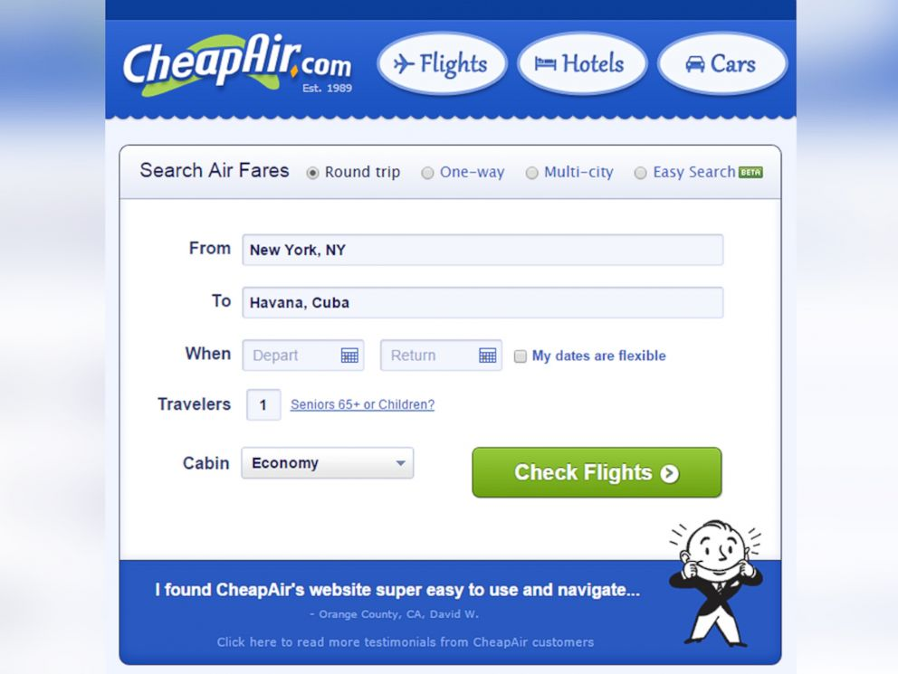 Find cheap flights and save money on airline tickets to every destination in the world at choreadz.ml Whether you already know where and when you want to travel, or are just seeking some inspiration, choreadz.ml is the perfect place to search for airfares, hotels, and rental cars and to plan the best trip.
