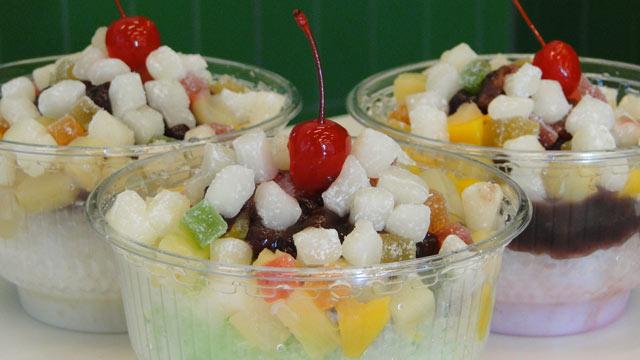 Japanese dessert beans shaved ice