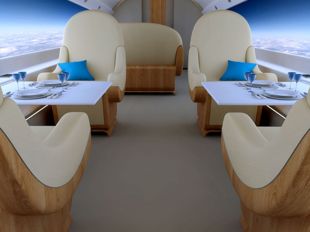 A Plane Where Every Seat Has A Window Abc News