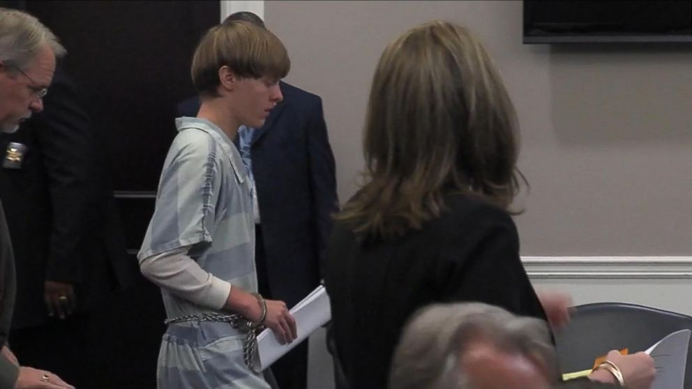 Dylann Roof Appears In Court Gag Order Extended Video