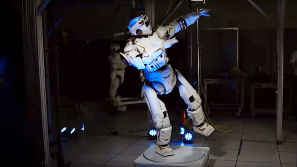 Watch NASA's Humanoid Robot Valkyrie Boogie Down - ABC News