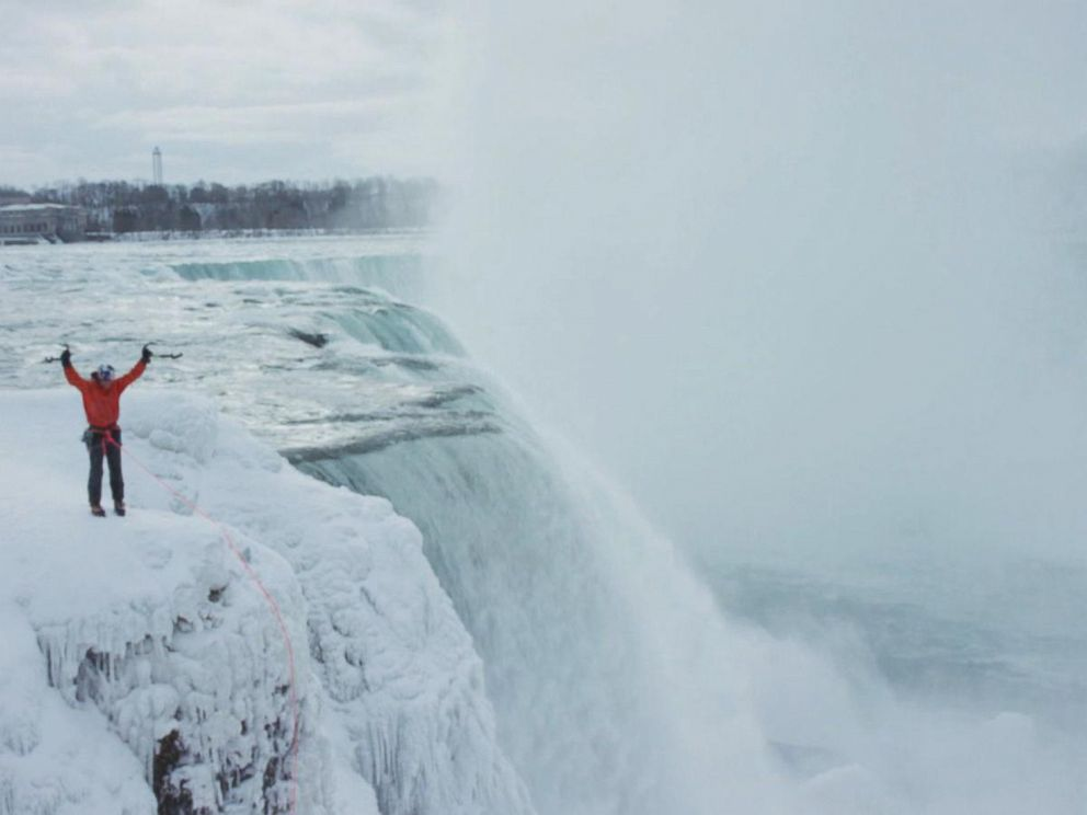 Niagara Falls Climber Will Gadd Recounts Scaling 'Blue ...