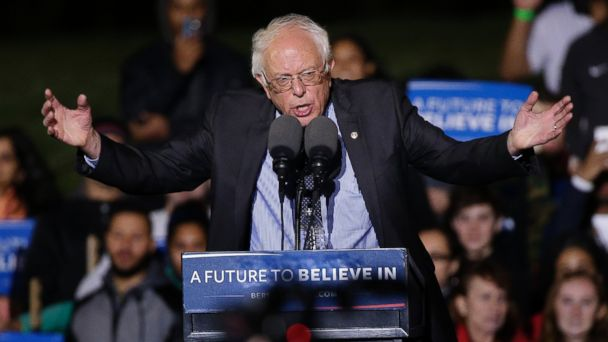 Sanders Reminds NYC Rally of His Brooklyn Roots | abc30 com