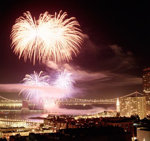 Top Ten Cities for Fireworks - ABC News