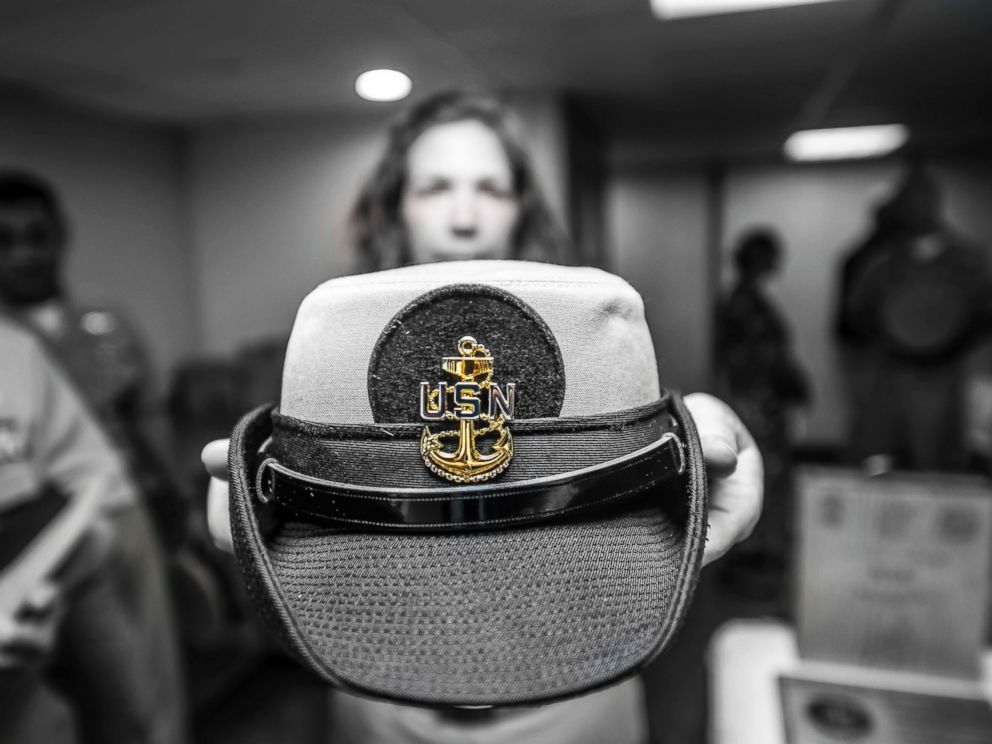 Navy S Famous Dixie Cup Hats To Be Worn By Women Abc News